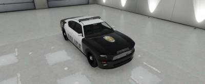 Police Cruiser Buffalo